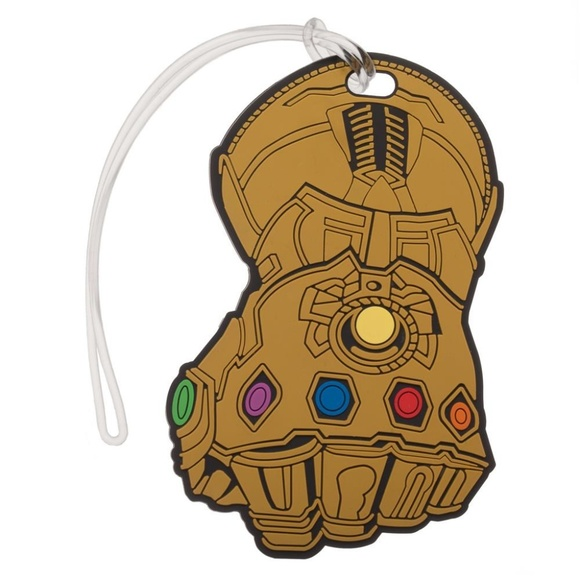 2d271f6f2016 Bioworld Bags | Avengers Thanos Infinity War Gauntlet Luggage Tag ...